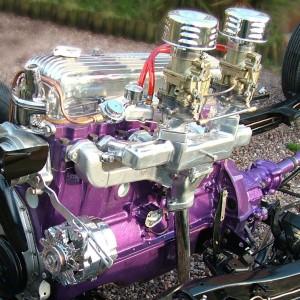 Melissa's Chevy Engine